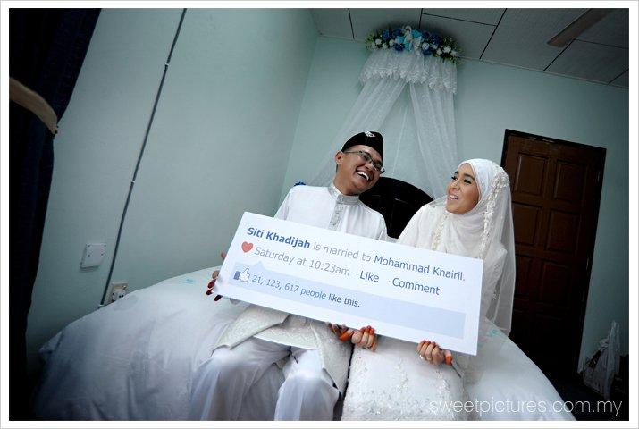 Road to 2011::::...: #134 - kad kahwin ala facebook ZED ZAIDI