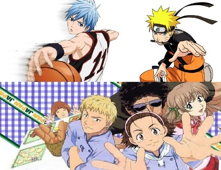 Kuroko's Basketball, Yakitate Japan and Naruto Shippuden 5, ABS-CBN Weekday Mornings Triple Treat