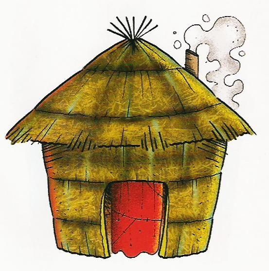 Esos locos bajitos de infantil tipos de casas - Imagenes infantiles de casas para colorear ...
