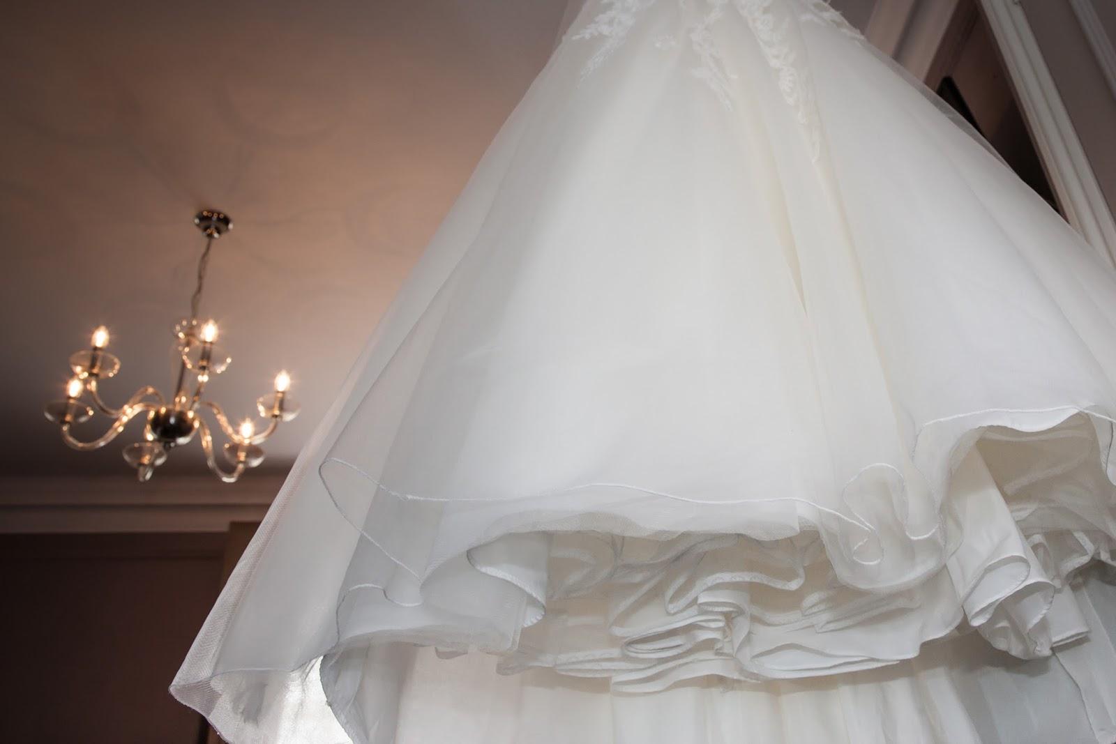 Wedding dress, morning preparations, bride, bridal