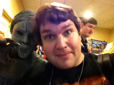Mysticon, Doctor Who, Weeping Angels, Chris Knight