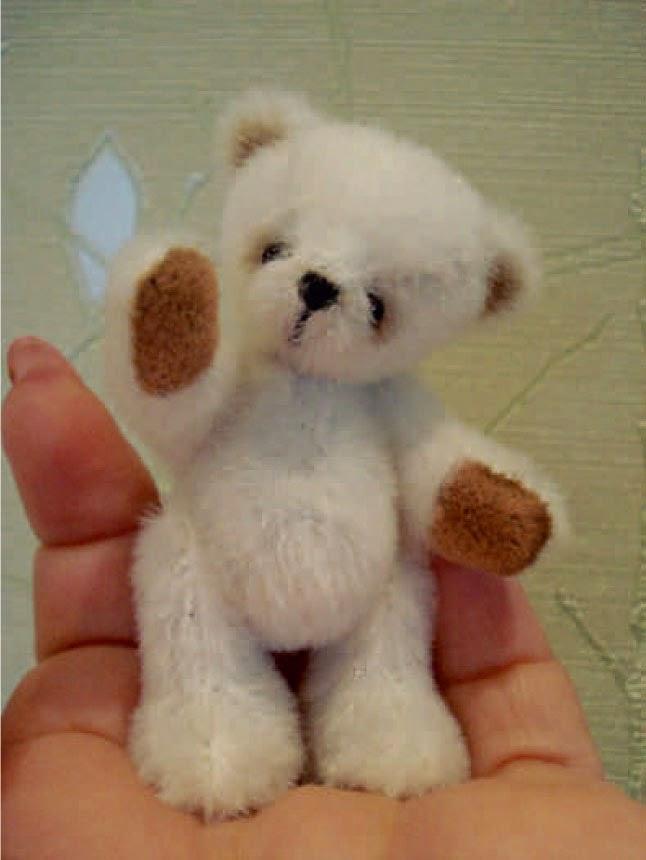 Медвежонок с выкройкой