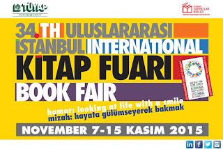 TÜYAP 34. Uluslararası İstanbul Kitap Fuarı Etkinlik Programı
