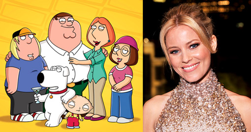 Elizabeth Banks and Family Guy and UPenn