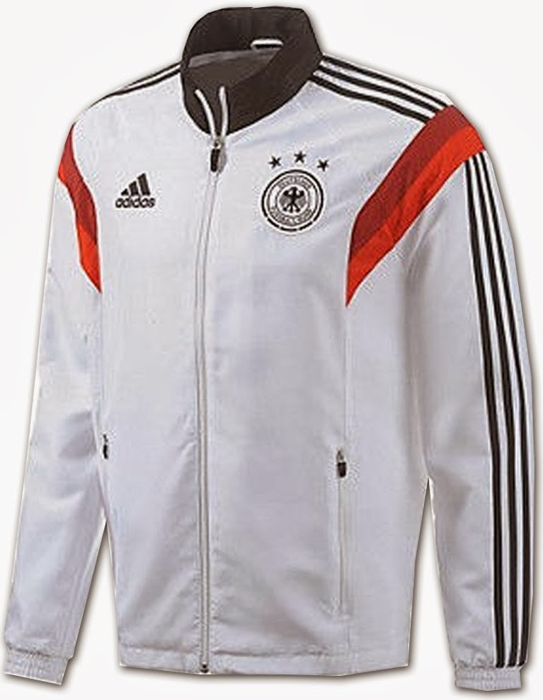Jaket Bola GO Murah Jerman Anthem Track Top Terbaru World Cup 2014 Official Training