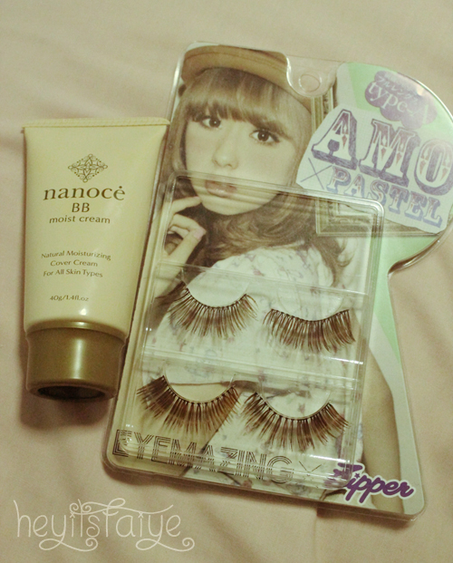 Nanoce BB Cream Amo Zipper Lashes