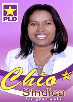 Blacina Reyes (Chío) Alcaldesa
