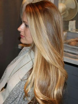 Peinados 2014 look ondas iluminacion
