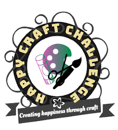 I proudly design for the Happy Craft Challenge 2019