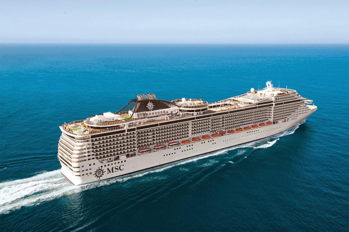 Florida Cruise Traveler  Navy MSC Divinanext Home Port