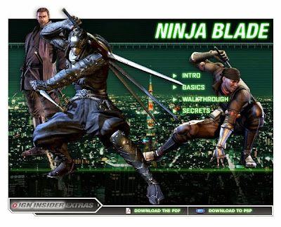 Download Ninja Blade PC Game