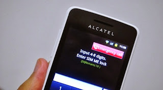CARA UNLOCK SIM ME LOCK PADA HANDPHONE DiGi ALCATEL ONE TOUCH GLORY 2S