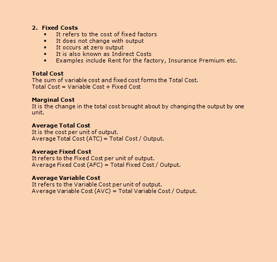 25 Total Cost Average Cost Fixed Cost And Variable Cost