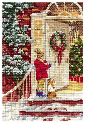 Дименшенс вышивка рождество
