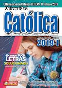 Examen Católica 2019-1 (Letras y Ciencias)