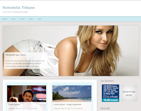 Kemotolis Tribune Blogger Theme