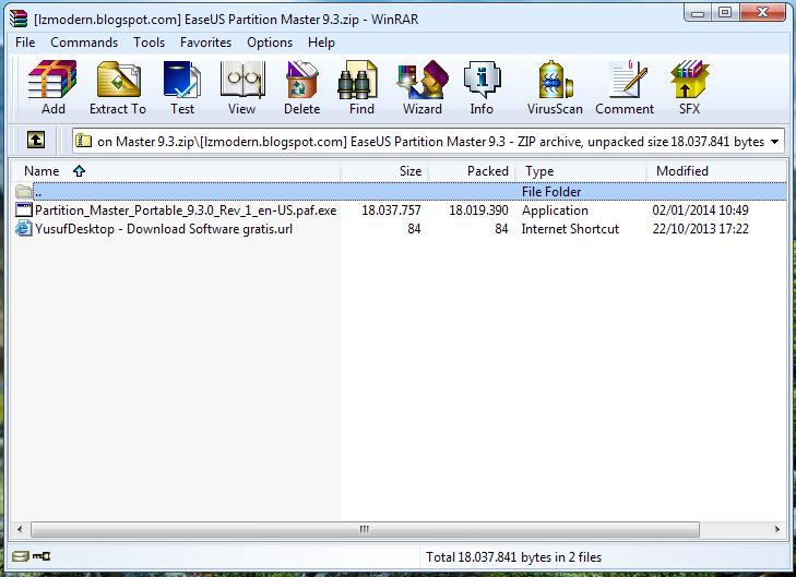 WinRAR 5.01 Full Version Portable (Registered)