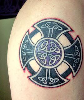 Tatouage homme celtique