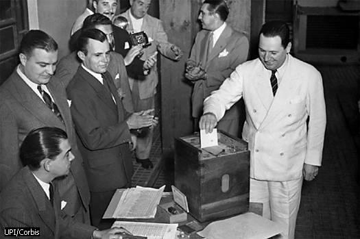 24 de febrero de 1946: Primer triunfo peronista