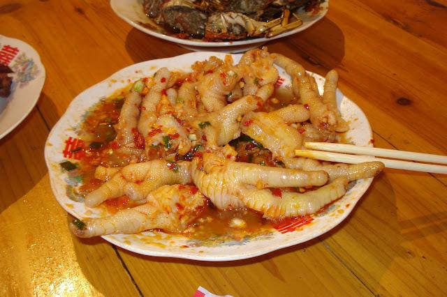 China, chicken feet