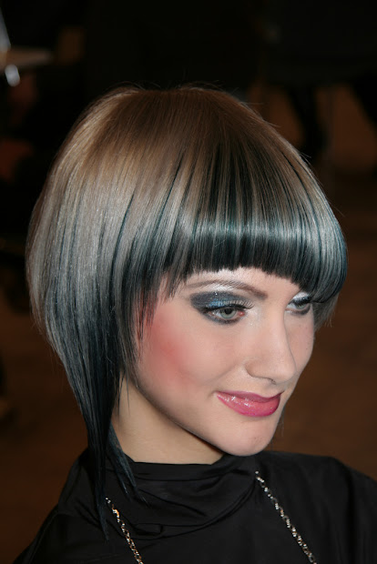 bob haircut with bangs trend