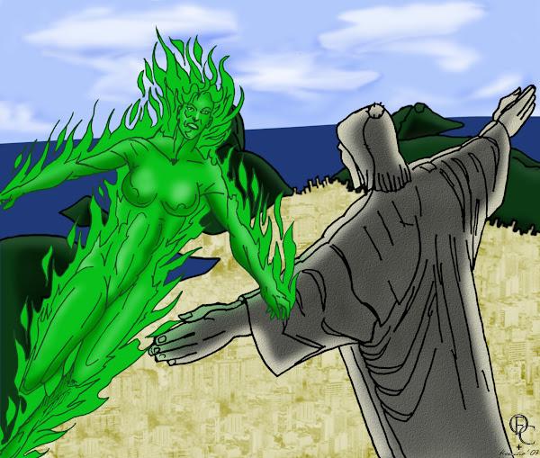 Fogo da DC Comics (Desenho de 2007)