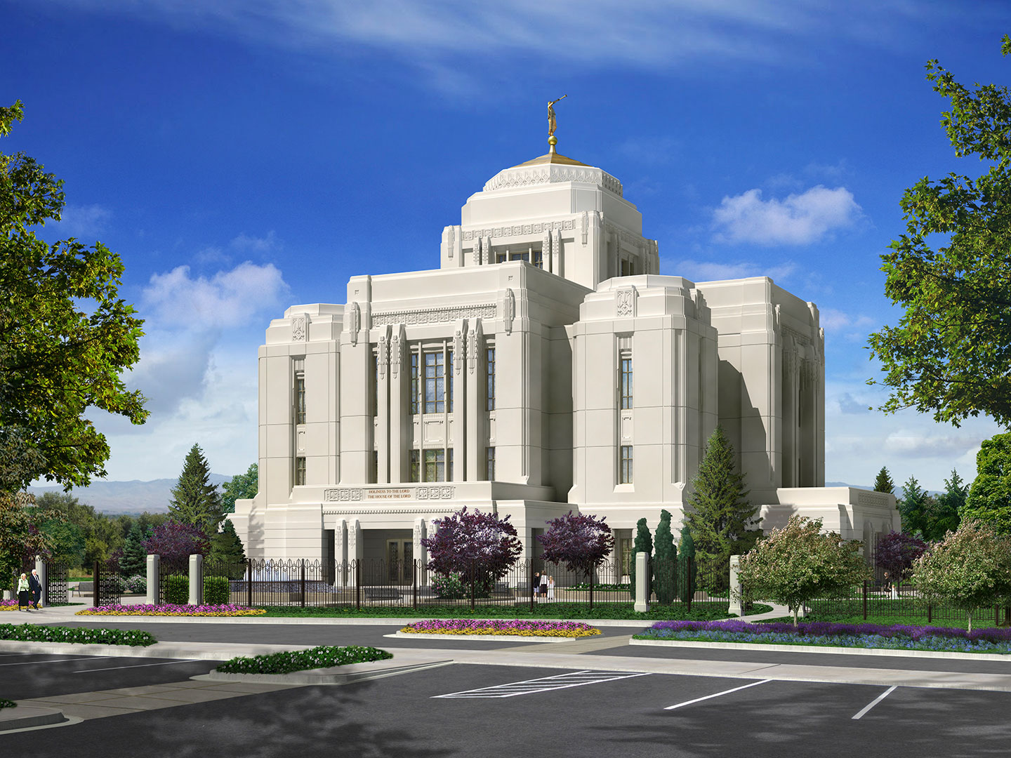 Tour the LDS Meridian, ID Temple