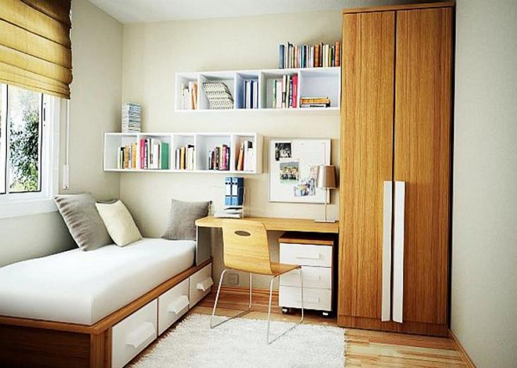 Clever Stylish Minimalist Kids Bedroom Storage Ideas Image Source Via www.lovile.com
