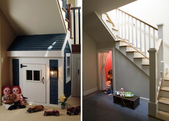 I d e a aprovechar el espacio bajo una escalera for Decoracion debajo escaleras