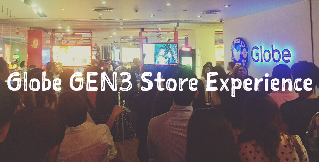 Globe GEN3 Store Ayala Center Cebu Experience A Wonderful Retail