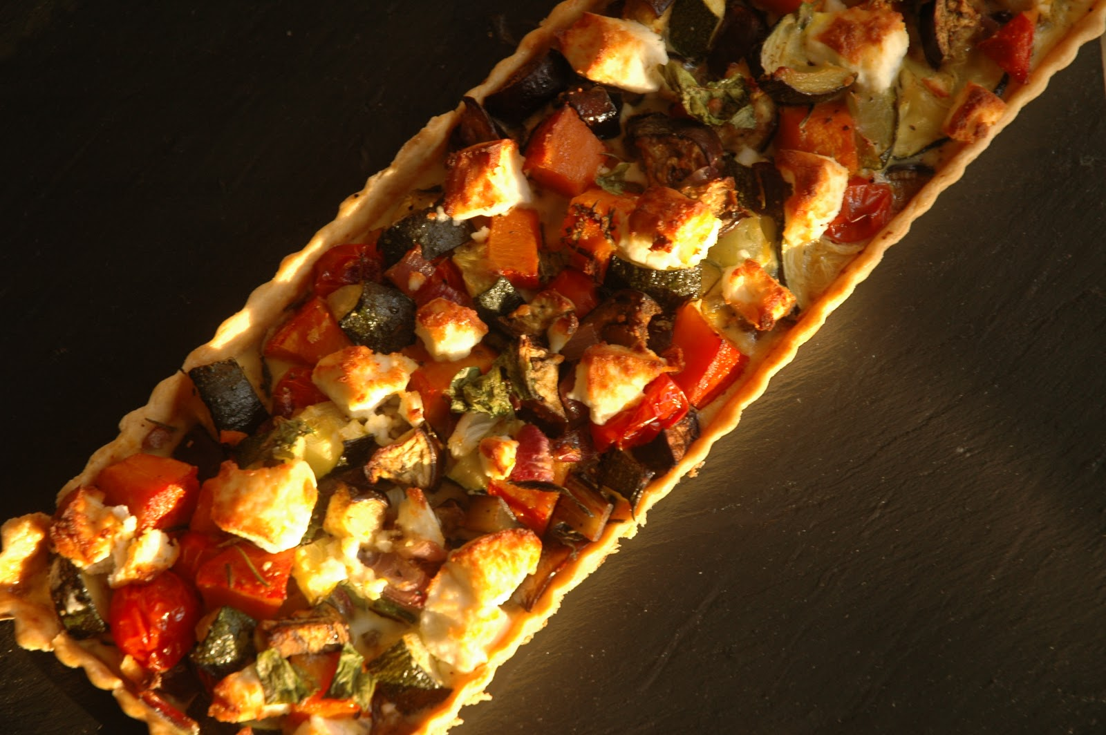 Emma's homemade: A roasted vegetable tart