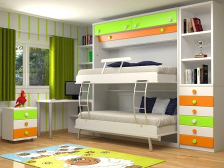 Camas abatibles en madrid camas abatibles toledo mueble - Dormitorios dobles para ninos ...