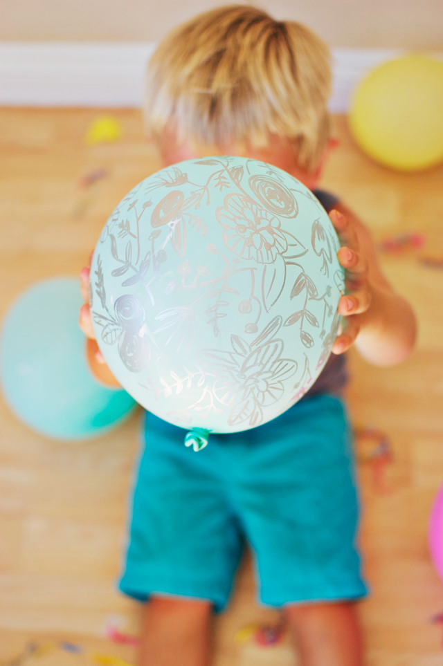 Painted Easter Egg Balloons