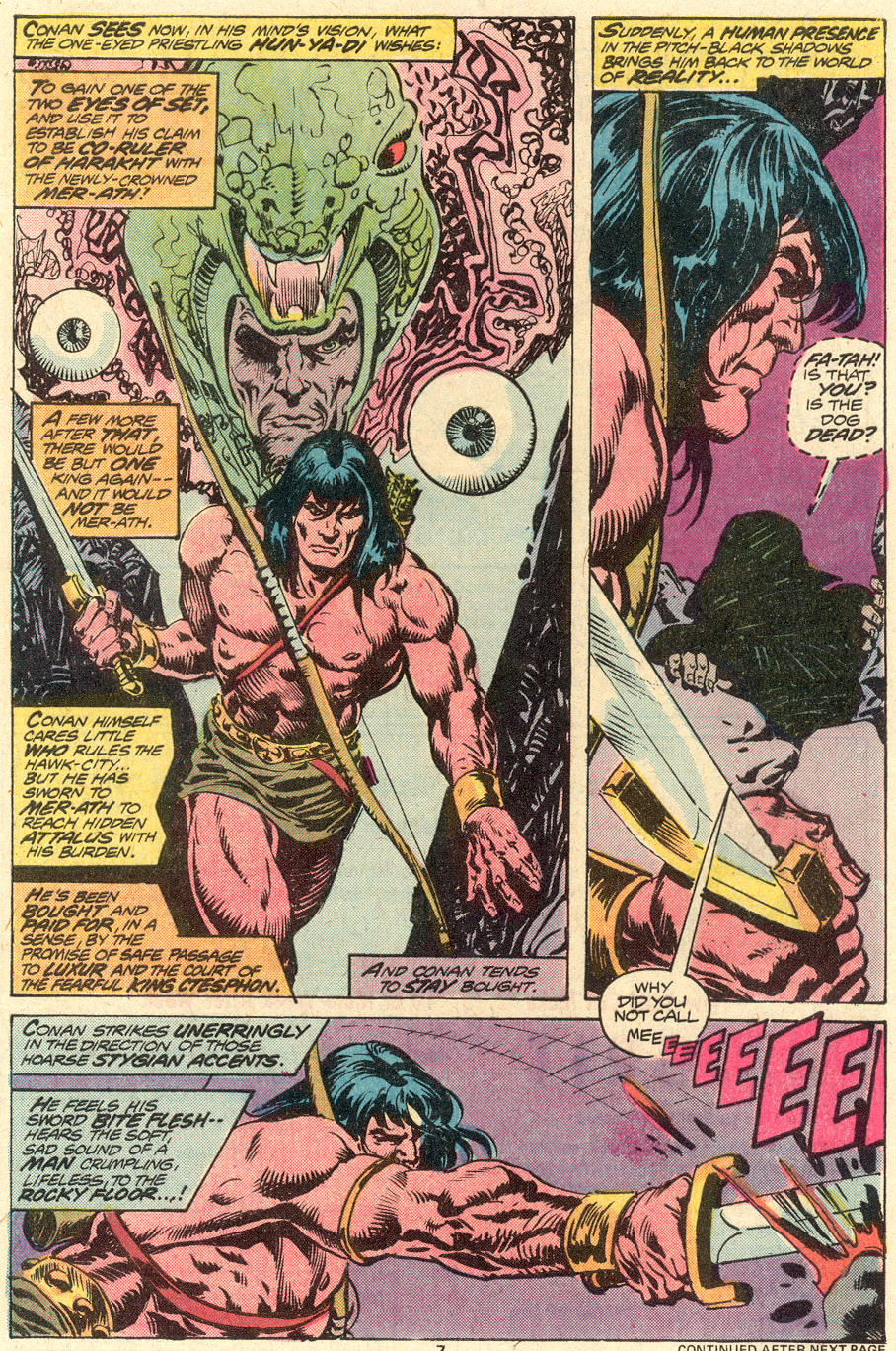 Conan the Barbarian (1970) Issue #79 #91 - English 6