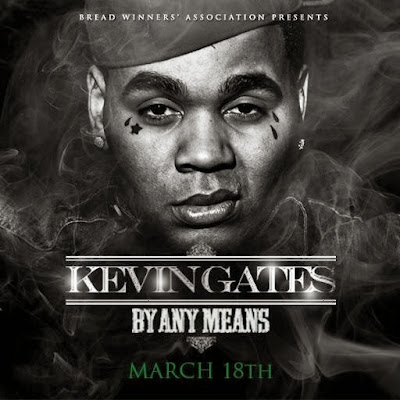 fotos portada cover de by any means disco mixtape lp de kevin gates