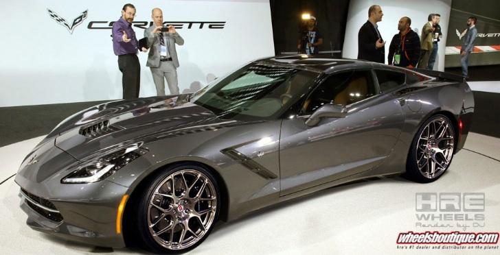 2014 Corvette Stingray on HRE Wheels - World News Cars