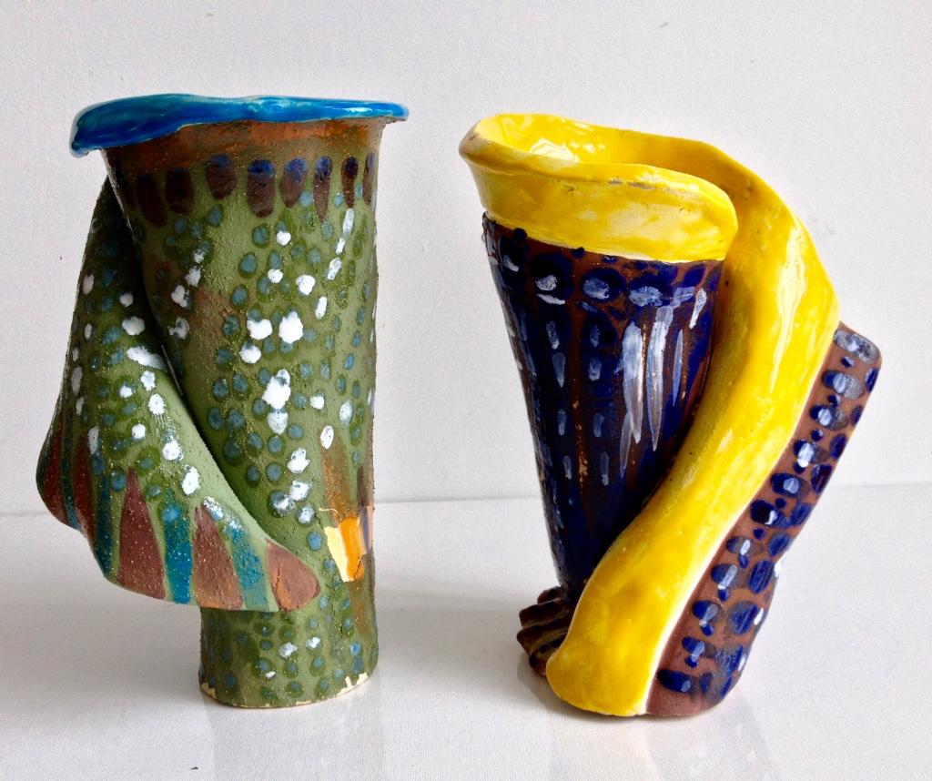 Vases harpe
