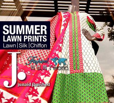 Junaid Jamshed - Summer Lawn Prints 2015