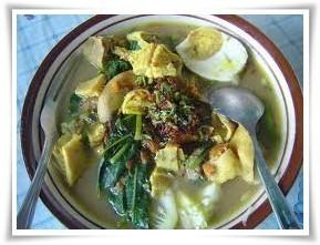 Resep masakan Rujak Soto Banyuwangi