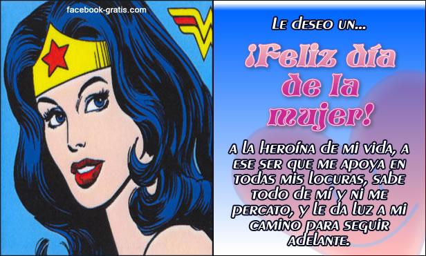 Tarjetas Feliz Día de la Mujer
