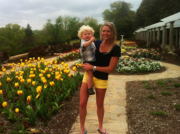 Italian gardens at Maymont