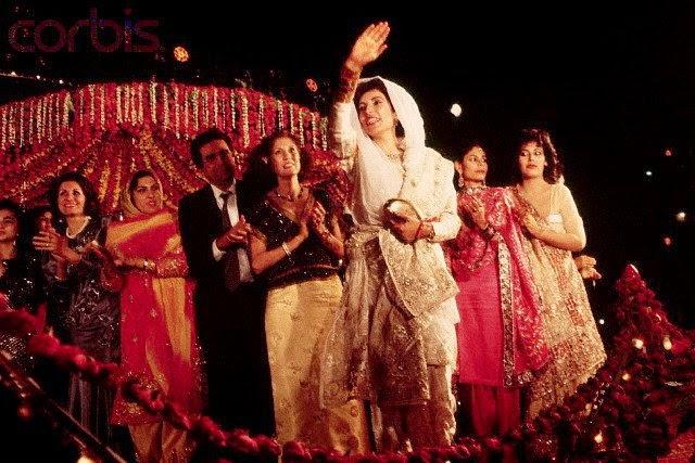 benazir bhutto amp asif zardari wedding unseen pictures