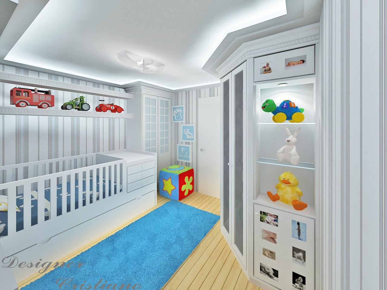 Cristiano Souza : Dormitório de bebê. #217FAA 1280 960