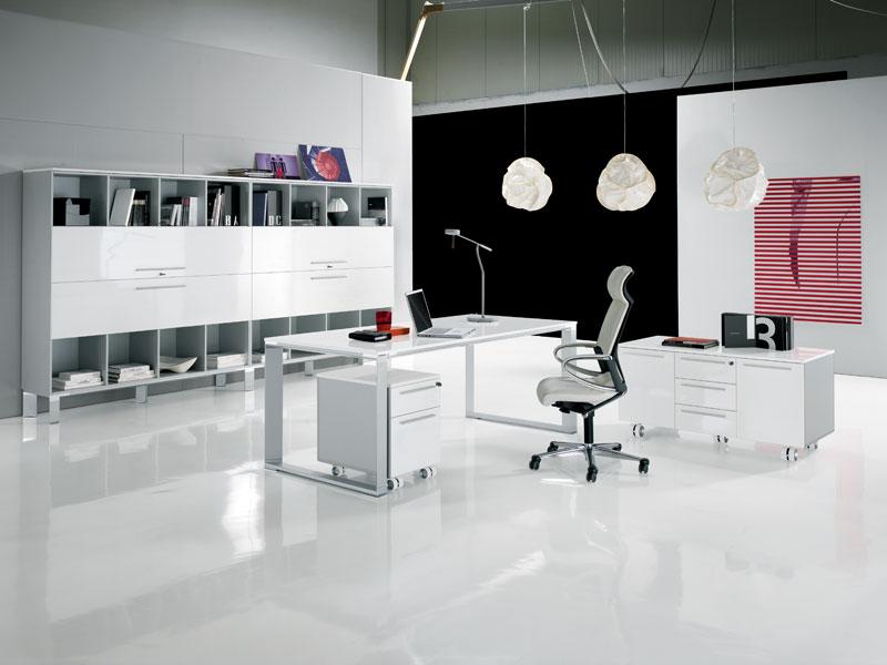 Decoración de Oficinas Modernas , Espacio de Trabajo Cómodo
