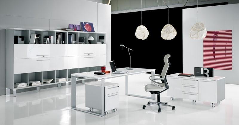 Decoraci n de oficinas modernas espacio de trabajo Decoracion de espacios de trabajo