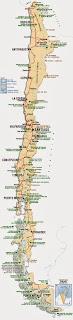 Kilia - Harta Gjeografike e Kili
