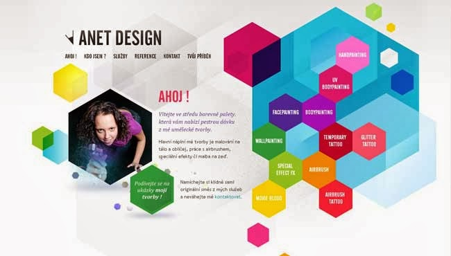 amazing website navigation design