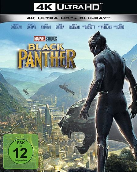 Black Panther 4K (Pantera Negra 4K) (2018) 2160p 4K UltraHD HDR BluRay REMUX 54GB mkv Dual Audio Dolby TrueHD ATMOS 7.1 ch