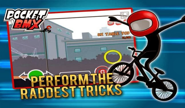 Pocket BMX apk - Screenshoot