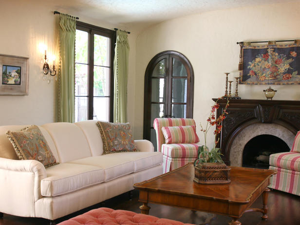 2013 Spanish Living Room Decorating Ideas Modern Furniture Deocor